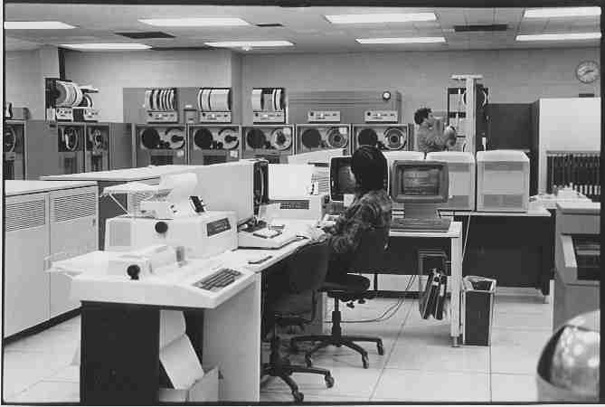 I spent my college and early career years in and out of machine rooms like this one. (Photo: Bob Resnikoff)